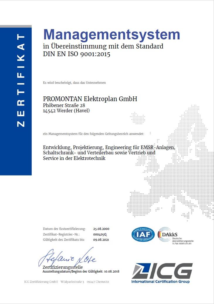 ISO promontan.de